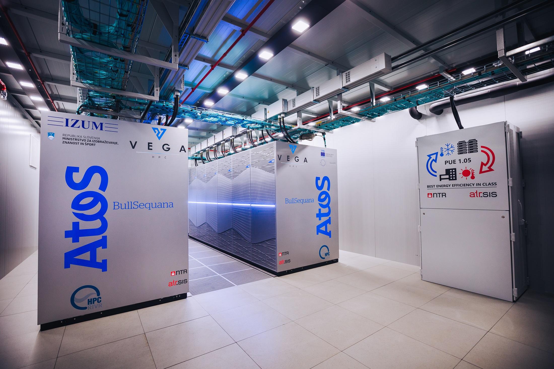 The first EuroHPC supercomputer Vega open for access